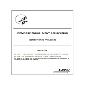 855A Medicare Application