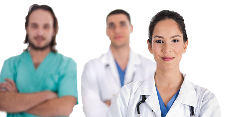 Registered Nurses and licensing specialists